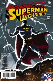 Superman Unchained #3 75th Anniversary 1930s Cover
