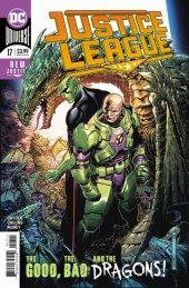 Justice League #17 Original Cover