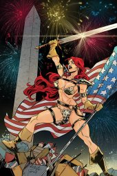 Red Sonja #18 1:15 Miracolo America Together Virgin Incentive