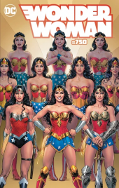 Wonder Woman #750 Kings Comics Nicola Scott Variant Edition