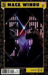 Star Wars: Jedi of the Republic - Mace Windu #2 Granov 40th Anniversary Variant