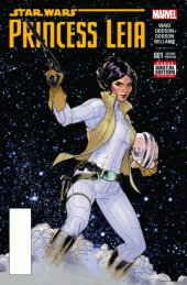 Star Wars: Princess Leia #1 2nd Printing Dodson Variant