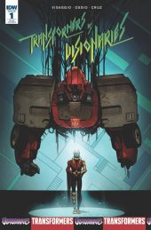 Transformers Vs. The Visionaries #1 1:20 Incentive Cover