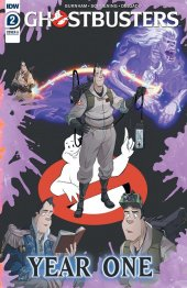 Ghostbusters: Year One #2 Original Cover