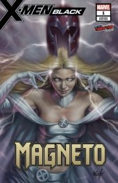 X-Men: Black - Magneto #1 Lucio Parillo Variant A