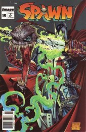 Spawn #15 Newsstand Edition