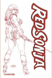 Red Sonja #17 1:25 Incentive