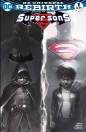 Super Sons #1 Hip Hopf / CBSI Exclusive Francesco Mattina B&W Variant