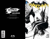 Batman #50 50 FORBIDDEN PLANET CONNECTING VARIANT BLACK & WHITE