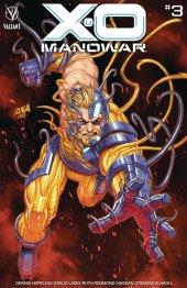 X-O Manowar #3 Cover B Nakayama