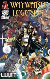 Wayward Legends #1 Holographic Gold Foil Cover