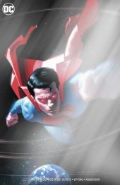 Action Comics #1008 WonderCon Convention Exclusive Silver Foil Jeff Dekal Variant