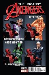 Uncanny Avengers #4 Deadpool Variant
