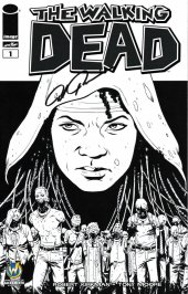 The Walking Dead #1 Wizard World Comic Con Sacramento VIP Exclusive Sketch Variant