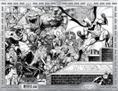 Detective Comics #1027 Arthur Adams Torpedo Comics Black & White Exclusive