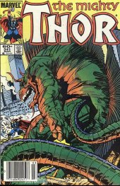The Mighty Thor #341 Newsstand Edition