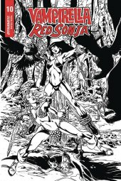 Vampirella / Red Sonja #10 1:7 Incentive