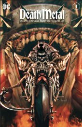 Dark Nights: Death Metal #1 Unknown Comic Books Exclusive Kael Ngu Variant A