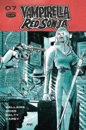 Vampirella / Red Sonja #7 Cover C Romero
