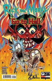 Rick And Morty: Go To Hell #5 Cover B Enger