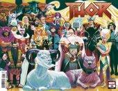 Thor #16 Full Michael Del Mundo Wraparound Cover
