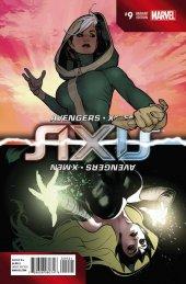 Avengers & X-Men: Axis #9 Hughes Inversion Variant