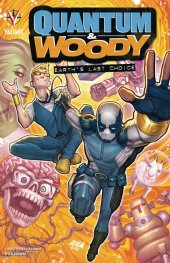 quantum & woody vol. 1: earth's last choice tp