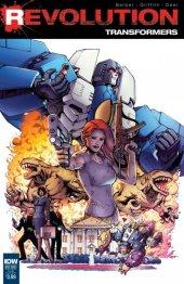 Transformers: Revolution #1 Subscription Variant