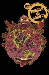 Zombies vs. Robots #3 Subscription Variant