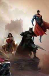 Justice League vs. Suicide Squad #1 Francesco Mattina Color Variant Part 2