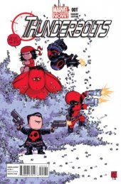 Thunderbolts #1 Young Baby Variant