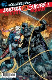 Justice League vs. Suicide Squad #1 Jason Fabok 2nd Printing