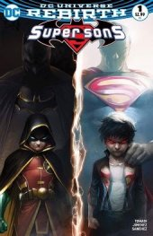 Super Sons #1 Hip Hopf / CBSI Exclusive Francesco Mattina Color Variant