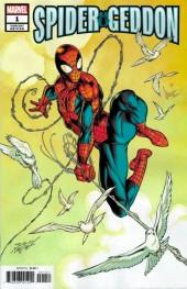 Spider-Geddon #1 Bagley Peter Parker Spider-Man Variant
