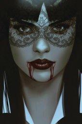 Vengeance of Vampirella #5 Oliver Ltd Virgin Cover
