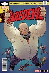 Daredevil #595 Torque Lenticular Homage Variant