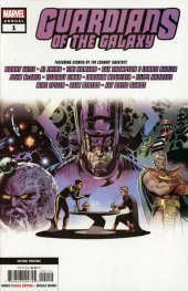 Guardians of the Galaxy Annual #1 2nd Printing