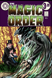 The Magic Order #1 Brannan Port City Comics Exclusive Variant