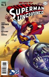 Superman Unchained #3 75th Anniversary Golden Age Cover