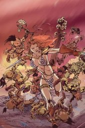 Red Sonja #17 1:15 Incentive