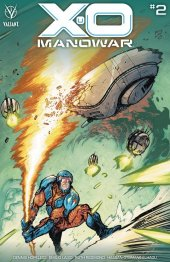 X-O Manowar #2 1:25 Cover Johnson