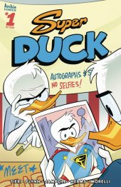 Super Duck #1 Cover B Charm