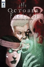 The October Faction: Supernatural Dreams #4 Cover B Worm