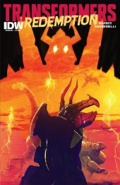 Transformers: Redemption #1 Original Cover