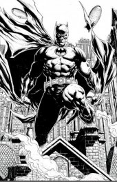 Detective Comics #1000 Yesteryear Comics Exclusive Jason Fabok B&W Variant