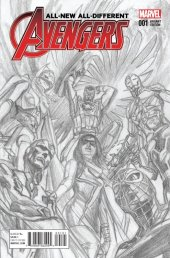 All-New, All-Different Avengers #1 Ross Sketch Variant