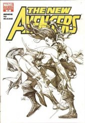 The New Avengers #31 Sketch Variant