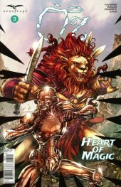 Oz Heart Of Magic #3 Cover D Tolibao