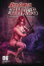 Red Sonja: Age of Chaos #6 Cover E Cosplay