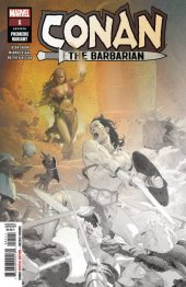 Conan the Barbarian #1 Ribic Premiere Variant